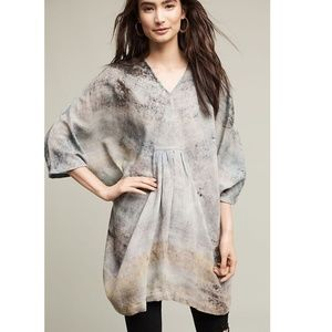 Anthropologie Tie-Dyed Wool Tunic new